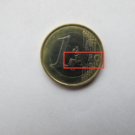 1 EURO DEL 2002 GERMANIA CON DIFETTO DI CONIO IN FIOR DI CONIO -