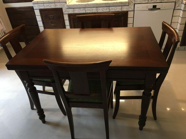 Offro tavolo allungabile in legno massiccio