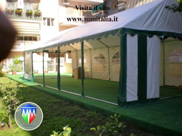Tendoni per Eventi e Feste, in Pvc Ignifugo  5 x 10  MM italia - Foto 7