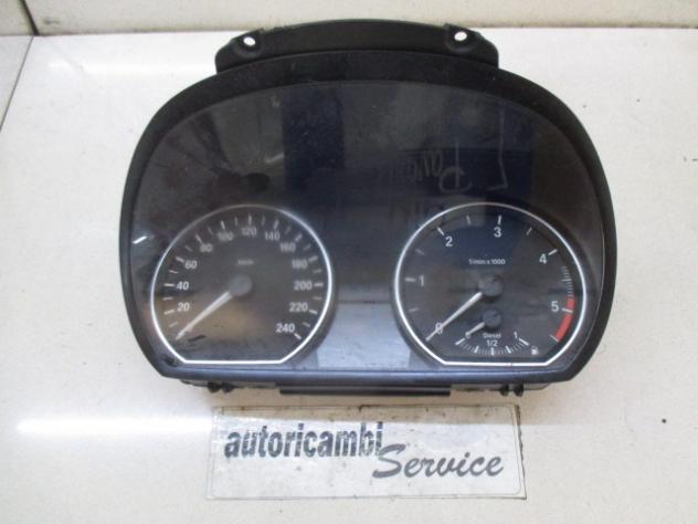 1204952-75 QUADRO STRUMENTI CONTACHILOMETRI BMW 118 D E87 2.0 D 6M 5P 105KW …