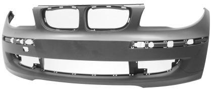 Paraurti Bmw Serie 1 muso cofano radiatori rinforzo kit airbag 07>12