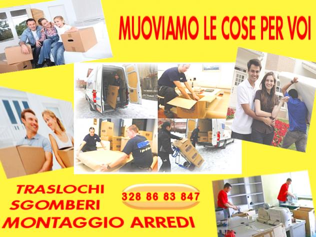 Professionalmente economici: TRASLOCHI - SGOMBERI - MONTAGGIO ARREDI - Foto 3