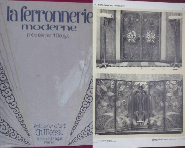 1925 CLOUZOT: LA FERRONNERIE MODERNE PORTFOLIO