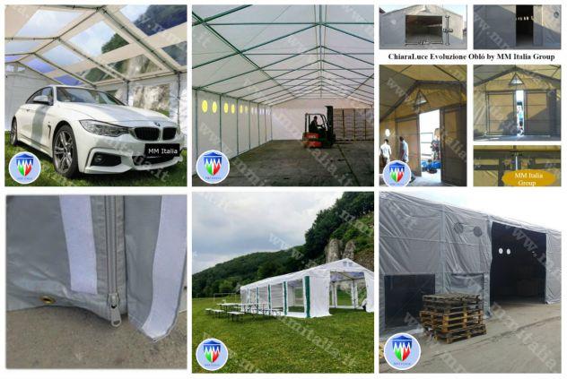 ChiaraLuce Estate EcoPlus Tendoni in Pvc Scontati 5 x 8 MM Italia con Velcro - Foto 4