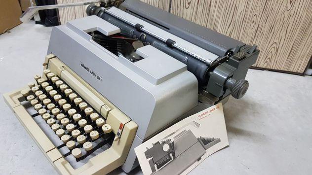 Macchina da scrivere anni '60 < Olivetti Linea98 >