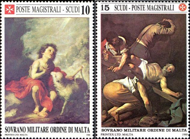 Francobolli nuovi annata 1988 S.M.O.M. - Foto 5