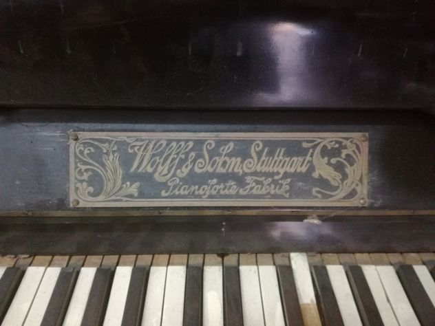 Pianoforte verticale Wolff & Sohn