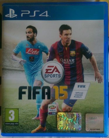 "Gioco ""FIFA 15"" ORIGINALE per PS4"