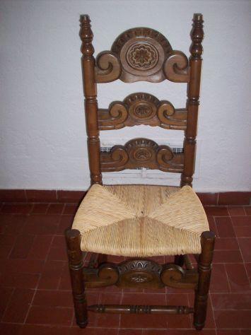 sedia poltrona spagnola - Foto 3