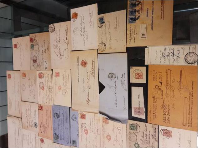 Buste, lettere, cartoline viaggiate