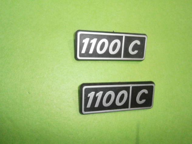 Scritte posteriori Fiat 128 1100 confort  NUOVE