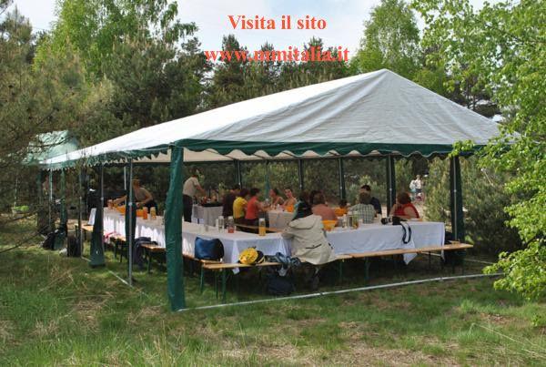 Tendoni Gazebo Tenso 6 x 10 uso privato e Pubblico  a Rovigo
