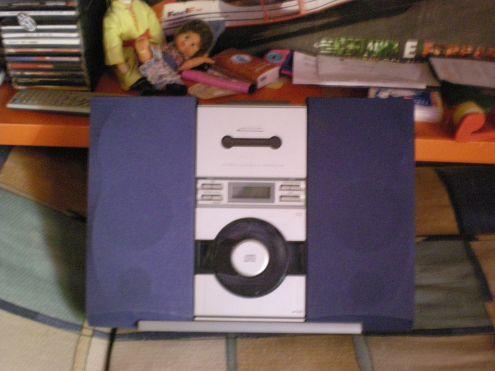 Vendo Lettore cd lettore per cassette radio