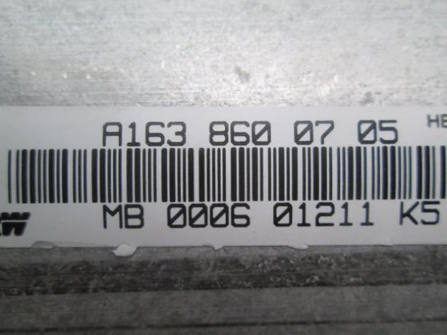 KIT AIRBAG COMPLETO MERCEDES W163 ML400 AMG 4.0 D 4X4 184KW 5P AUT (2001) R … - Foto 4