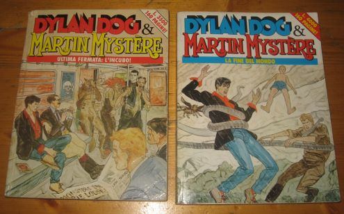 Dylan Dog & Martin Mystere - Speciali Rosso e Blu
