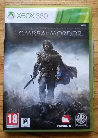 La Terra Di Mezzo L'ombra Di Mordor Ranger Oscuro Xbox 360 NUOVO