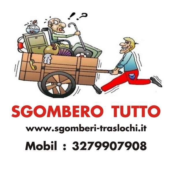 Sgombero trasloco mobili Sanremo Liguria