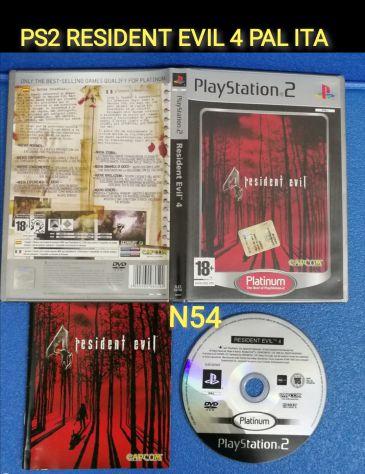 PS2 RESIDENT EVIL 4 PAL ITALIANO