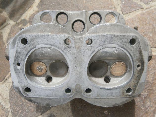 Testata Fiat 500F L Fiat 4240095 110F000 completa di valvole