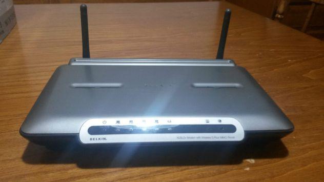 Modem Belkin  adsl2+ wireless