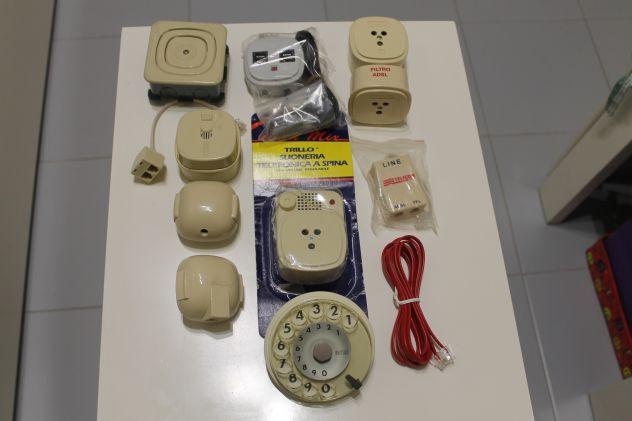 Ricambi-Materiale telefonico nuovo