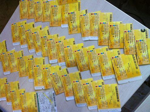 Biglietti Concerti Rock Passati Unused e Non, Da Collezione! - Foto 3