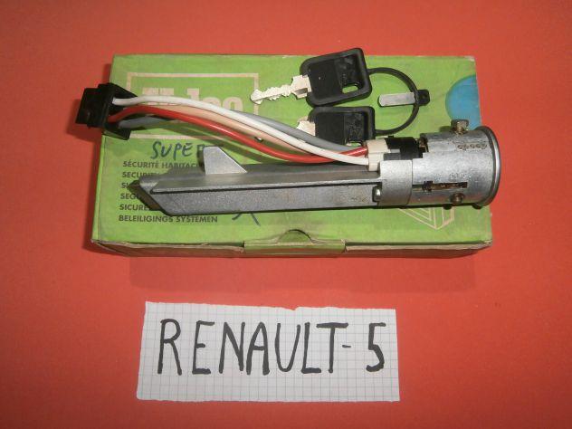 Blocchetto commutatore accensione Renault 5 Alpine L TL GTL Valeo 252224