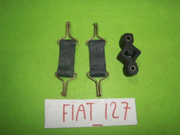 Tiranti sostegno marmitta centrale Fiat 127 1°s prima serie L C CL SPORT &q … - Foto 7
