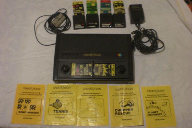 Giochi elettronici vintage anni 80 CREATIVISION MICROVISION CASIO SOCC