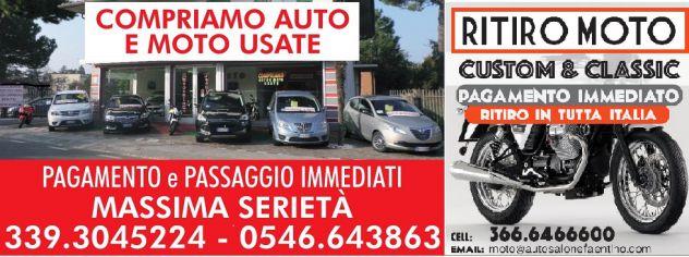 COMPRO - RITIRO  MOTO USATE IN TUTTA ITALIA