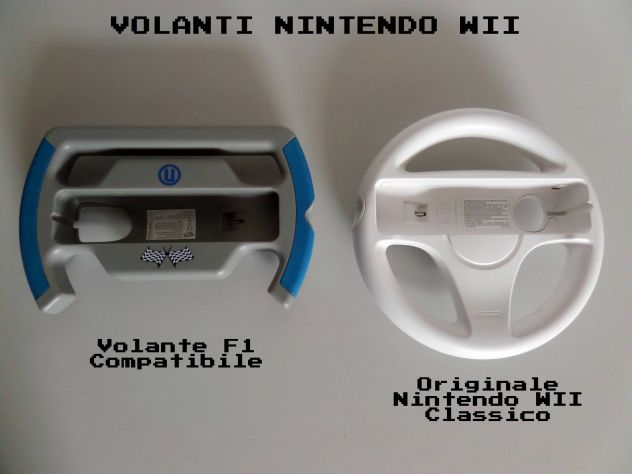 Volante Nintendo WII ORIGINALE + volante F1