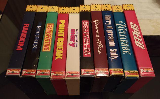 """10 film in VHS della collana di Panorama """"I grandi film"""" - Foto 2"""
