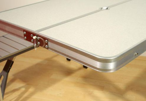 Set picnic tavolo pieghevole a valigetta con sgabelli per
