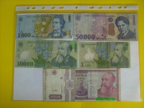 Banconote Europa pre euro