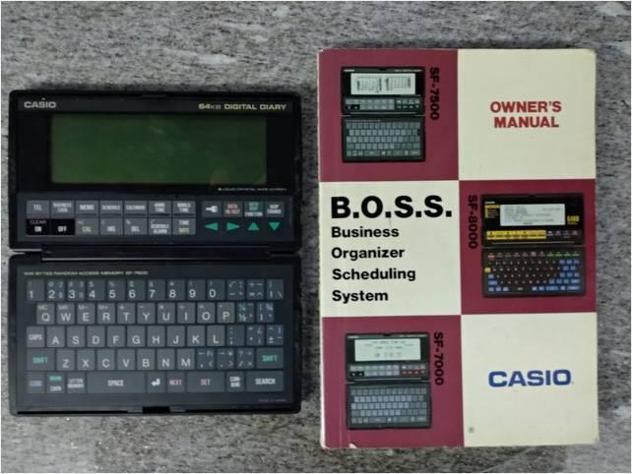 Organizer Casio BOSS 64kb Usato