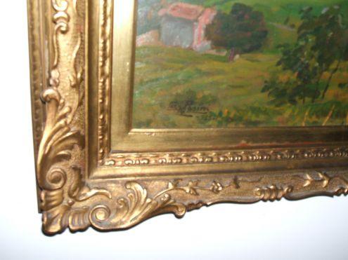 L. Pasini, importante dipinto a olio del 1925 - Foto 3