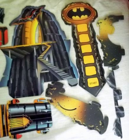 Batman the animated series 3D board game Parker. Raro. - Foto 3