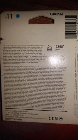 Cartuccia originale HP color ciano. - Foto 3