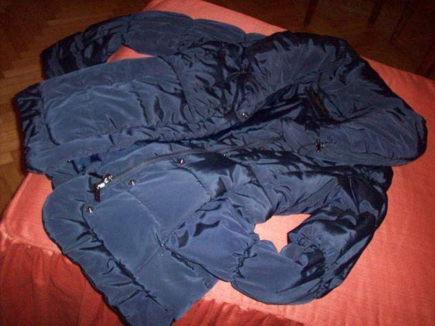 Piumino giacca blu
