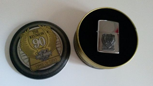 "Zippo Harley Davidson ""The Reunion 90 years 1903 -1993"""