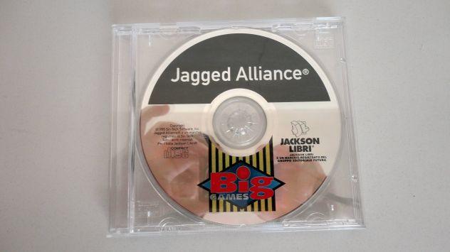Jagged Alliance ITALIANO,PC (big games oro) vintage - Foto 5