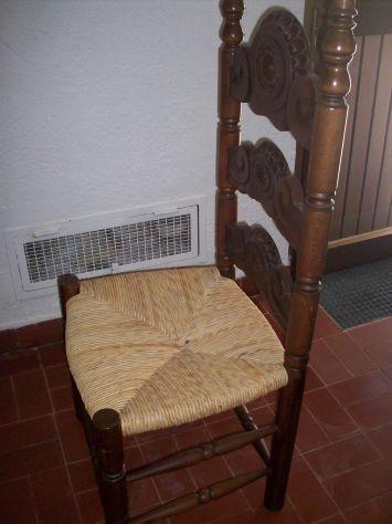 sedia poltrona spagnola - Foto 7