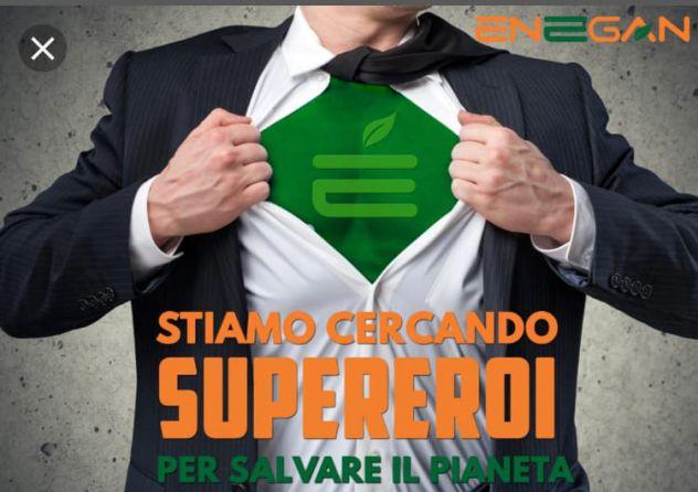 ENEGAN SPA RICERCA SUPER EROI 100% GREEN BERGAMO E PROVINCIA
