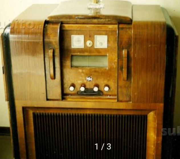 1 / 3 Radio e giradischi IMCA anni 30