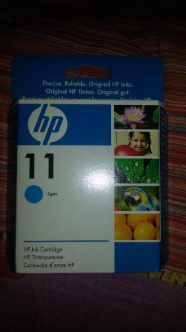 Cartuccia originale HP color ciano.