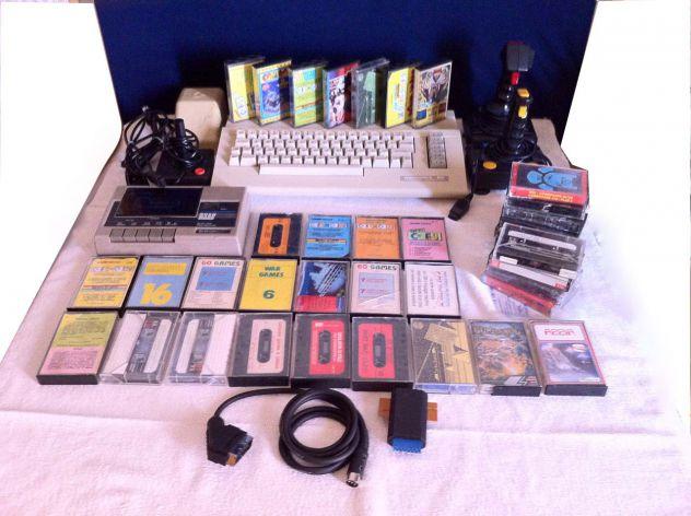 Commodore 64 + Data cassette Rush Ware