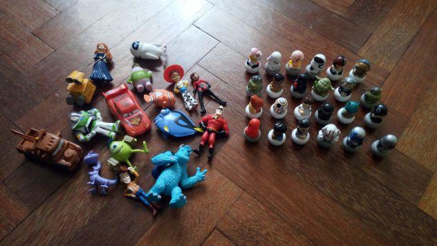 Wizzis Harry Potter,Pixar e Star Wars Rollinz Esselunga collezioni
