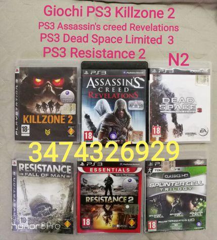 GIOCHI PS3  KILLZONE 2