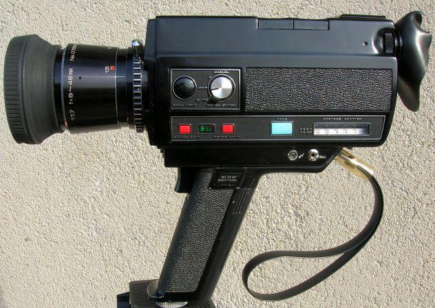 Videocamera COSINA 736 HI-Delux  silent super 8 cartridge made in Japan