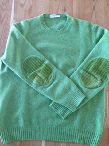 Maglione Della Ciana, taglia 52, verde